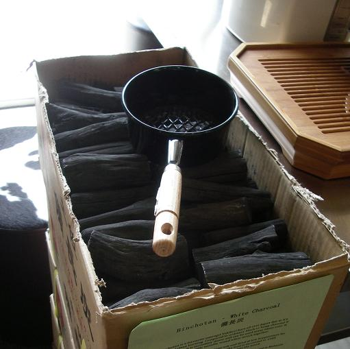 Binchotan - White Charcoal and a fire starter