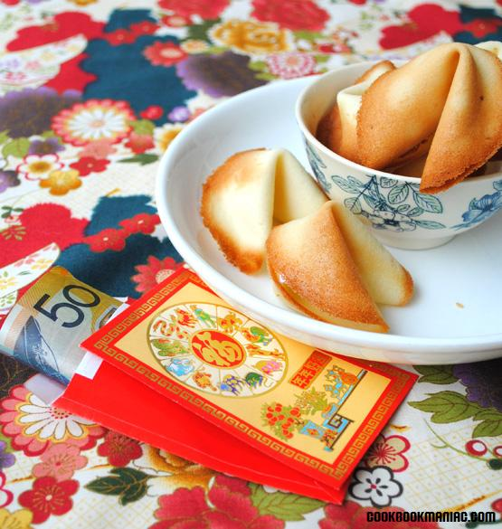 Almond biscuits chinese retro kitsch new year dessert