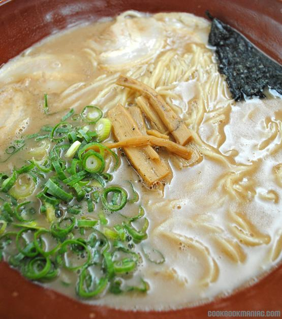 Tonkotsu ancient noodles pork bones pure boiled hours Haymarket Chinatown Darling Harbour