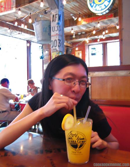 Forrest Gump Restaurant bubba gump shrimp scampi