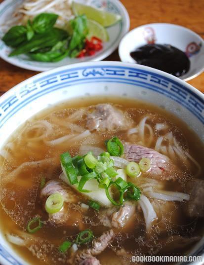 National Dish Vietnam Bones marrow cow broth saigon ho chi minh city