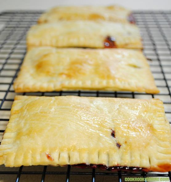 Strawberry Jam Boysenberry Pastry Flaky how to make butter crust retro recipe old fashion made from scratch