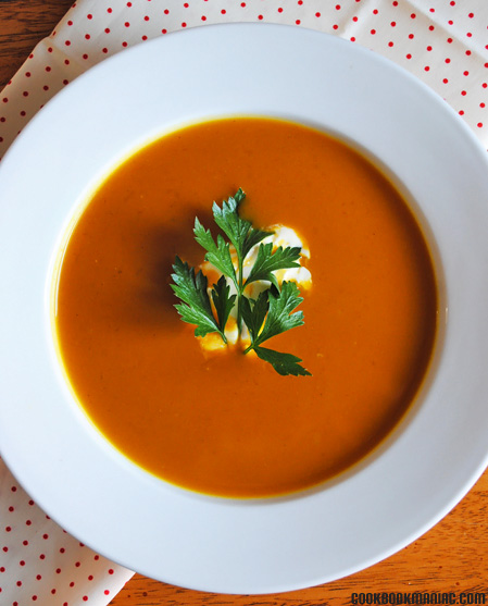 pumpkin curry chicken stock powder honey yogurt sour cream The food you crave