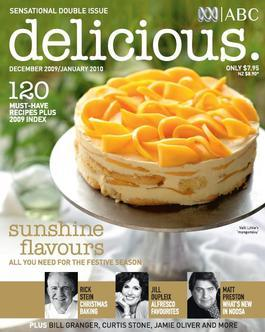 Delicious Magazine Dec/Jan 2009 Issue