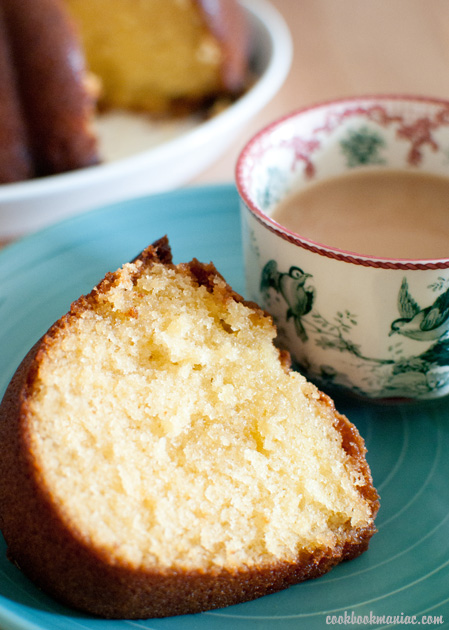 plain flour egg butter buttermilk milk sugar salt baking soda powder dense bundt light corn syrup vanilla extract