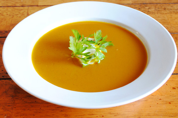Curried Butternut Squash Soup by Ellie Krieger