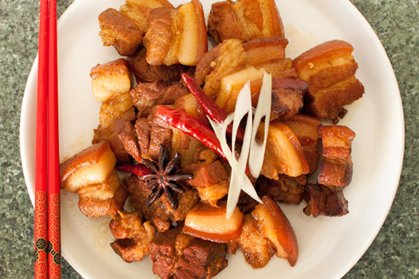Chairman Mao's Red Braised Pork Belly – Hong Shao Rou by Fuchsia Dunlop
