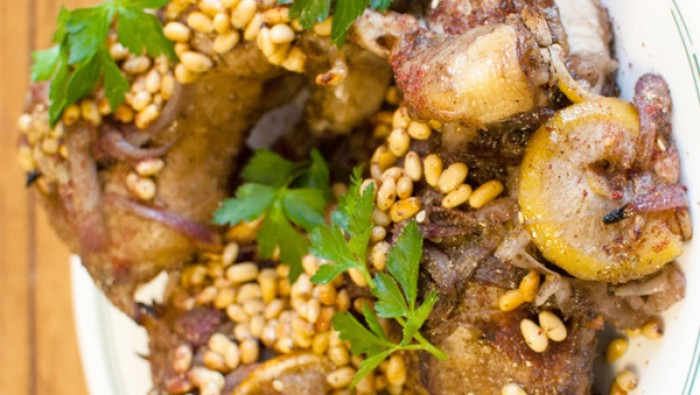 Roast Chicken with Sumac, Za'atar and Lemon by Ottolenghi